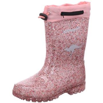 KangaROOS Gummistiefel rosa