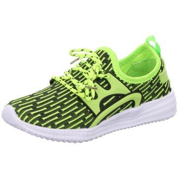 Slobby Sneaker Low grün