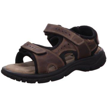 Klondike Sandale braun