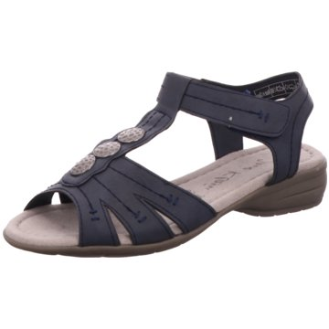 Idana Komfort Sandale blau
