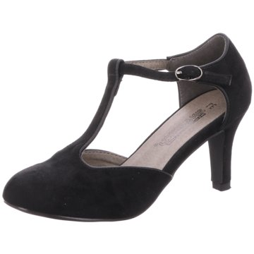 Sun & Shadow T-Steg Pumps schwarz