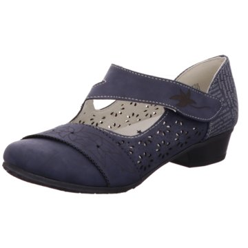 Super In Komfort Pumps blau