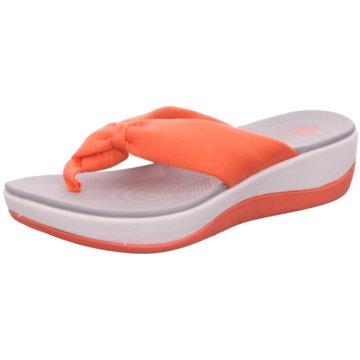 Clarks Komfort PantoletteArla Glison orange