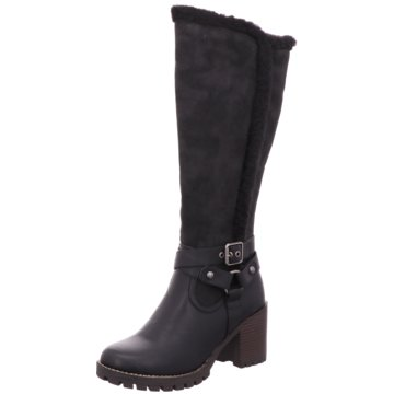 H.I.S Klassischer Stiefel schwarz