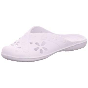 Topway Komfort Pantolette weiß