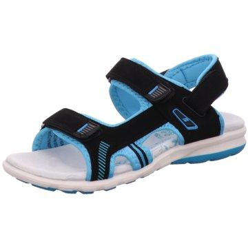Step & go Offene Schuhe schwarz