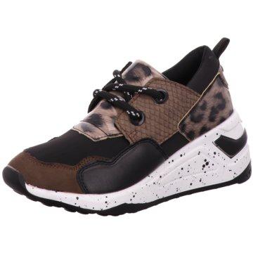 Jumex Sneaker Wedges braun