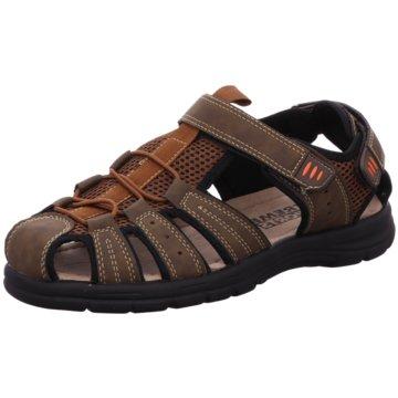 xtreme Sports Komfort Sandale braun