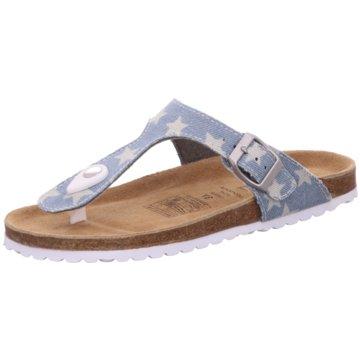 Super Soft Offene Schuhe blau