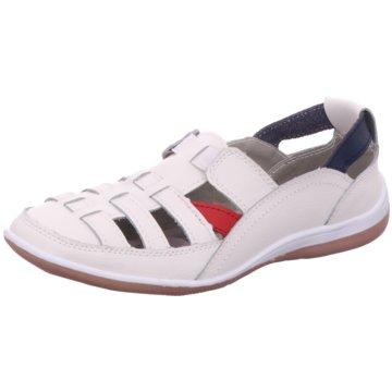 Scandi Komfort Slipper weiß