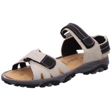 Idana Komfort Sandale grau
