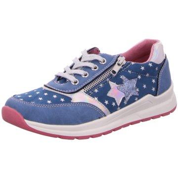 BM Footwear Schnürschuh blau