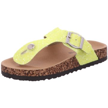 Charlie & Co Offene Schuhe gelb