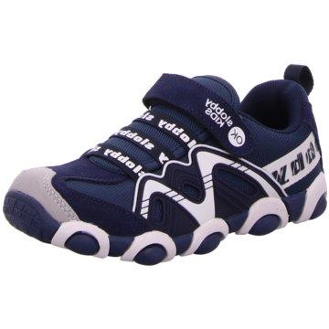 Slobby Sportlicher Schnürschuh blau