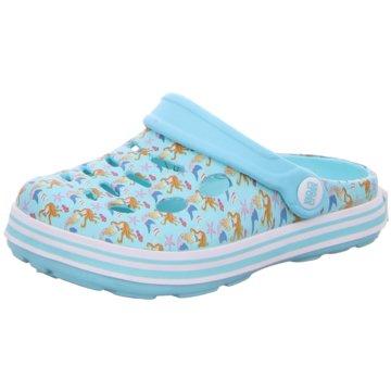 Cloxx Offene Schuhe blau