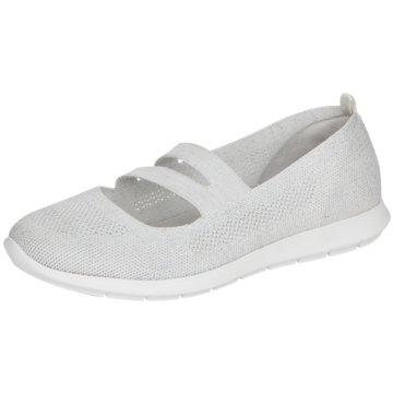Remonte Komfort Slipper weiß