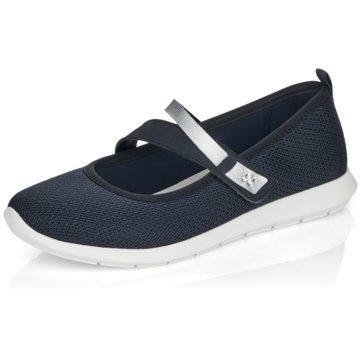 Remonte Komfort Slipper blau