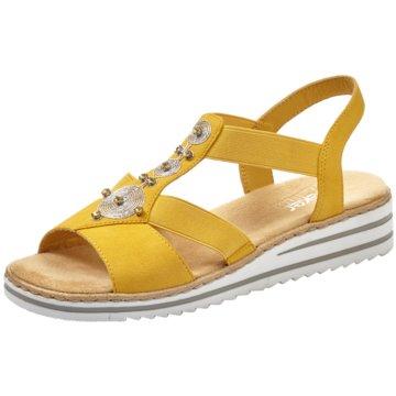 Rieker Sandale gelb