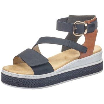 Rieker Sandale blau