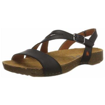 art Komfort Sandale schwarz