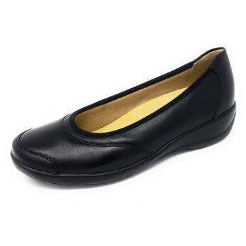 Goldkrone Komfort Slipper schwarz