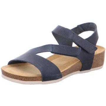 Brako Komfort Sandale blau