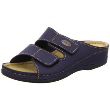 inblu Komfort Pantolette blau