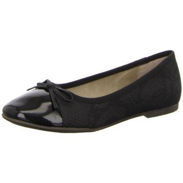 Idana Klassischer Ballerina schwarz