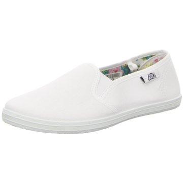 Hengst Footwear Komfort Slipper weiß