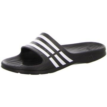 adidas BadeschuhDuramo Slide schwarz