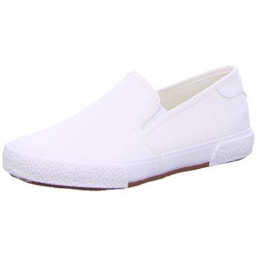 Tamaris Sportlicher Slipper weiß