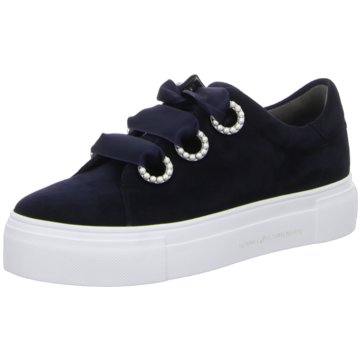 Kennel + Schmenger Plateau Sneaker blau