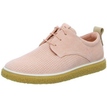 Ecco Sneaker LowCrepe Tray rosa