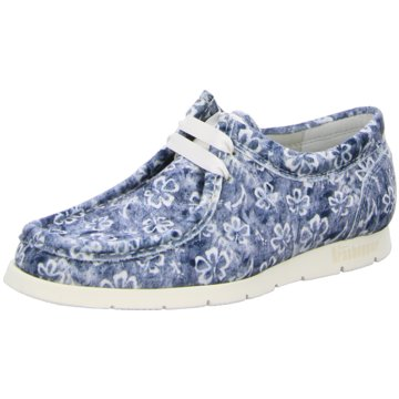 Sioux Mokassin SchnürschuhSneaker blau