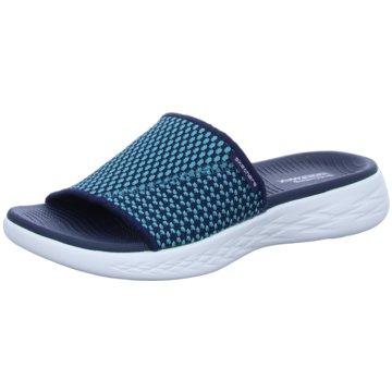Skechers Badeschuh blau