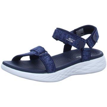 Skechers Komfort SandaleOn-The-Go 600-Radian blau