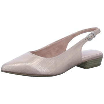 Tamaris Slingpumps gold