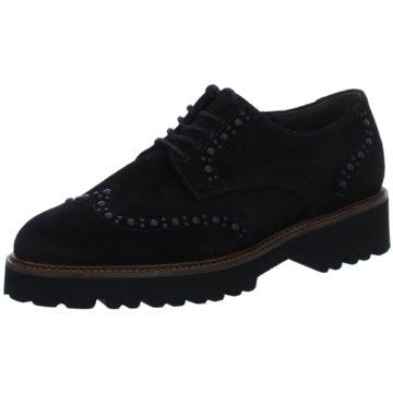 Gabor Klassischer SchnürschuhSneaker schwarz