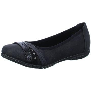 Idana Komfort Slipper schwarz