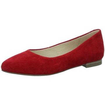 Caprice Klassischer Ballerina rot