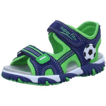 Superfit Offene Schuhe grün