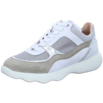 Unisa Plateau Sneaker weiß