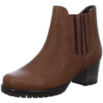 Gabor comfort Chelsea BootAnkle-Bootie braun