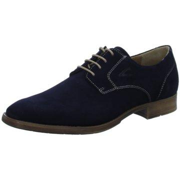 Gabor Eleganter Schnürschuh blau