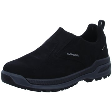 LOWA Komfort Slipper schwarz