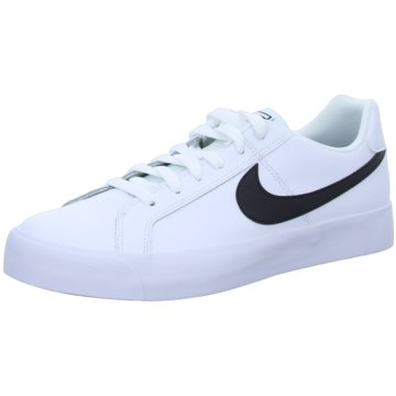 Nike - NIKE COURT ROYALE AC,WHITE/BLACK -