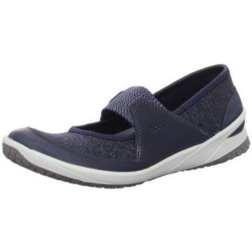 Ecco Komfort Slipper blau
