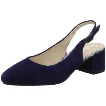 Gabor comfort Business FinestSlingback blau