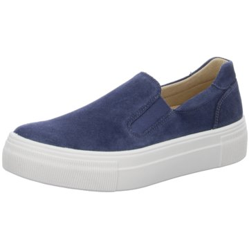 Legero Sportlicher SlipperSneaker blau