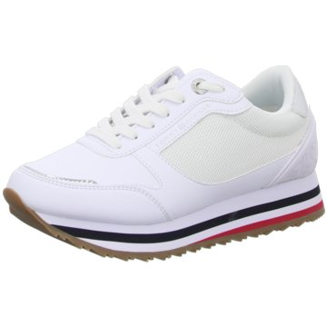 Tommy Hilfiger Plateau SneakerFeminine Tommy Monogram Sneaker weiß
